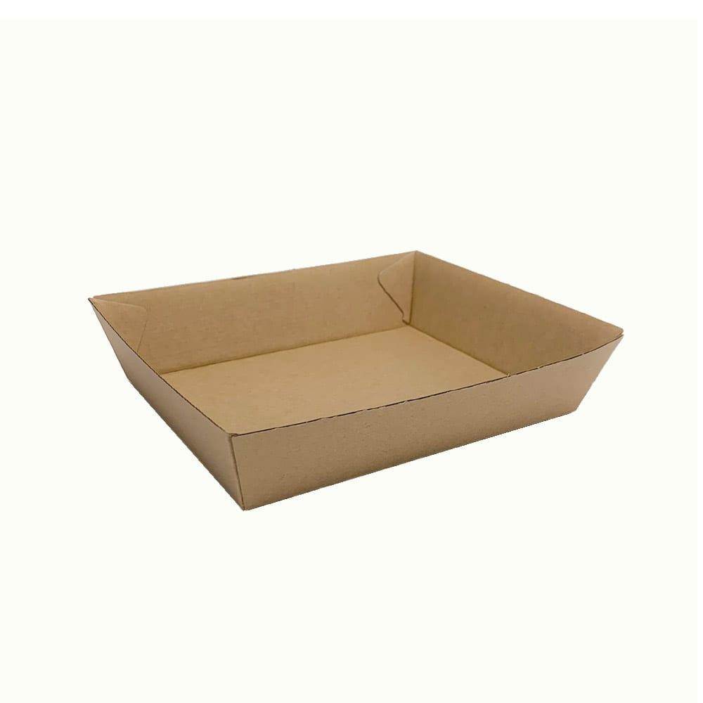 BioChoice™ Kraft Board Rectangular Trays