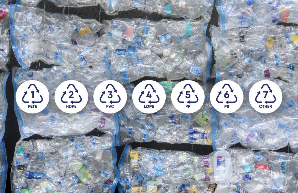 Understand codes on plastics and their role in improving the recycling of packaging